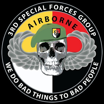 3rd Special Forces Group - We Do Bad Things To Bad People