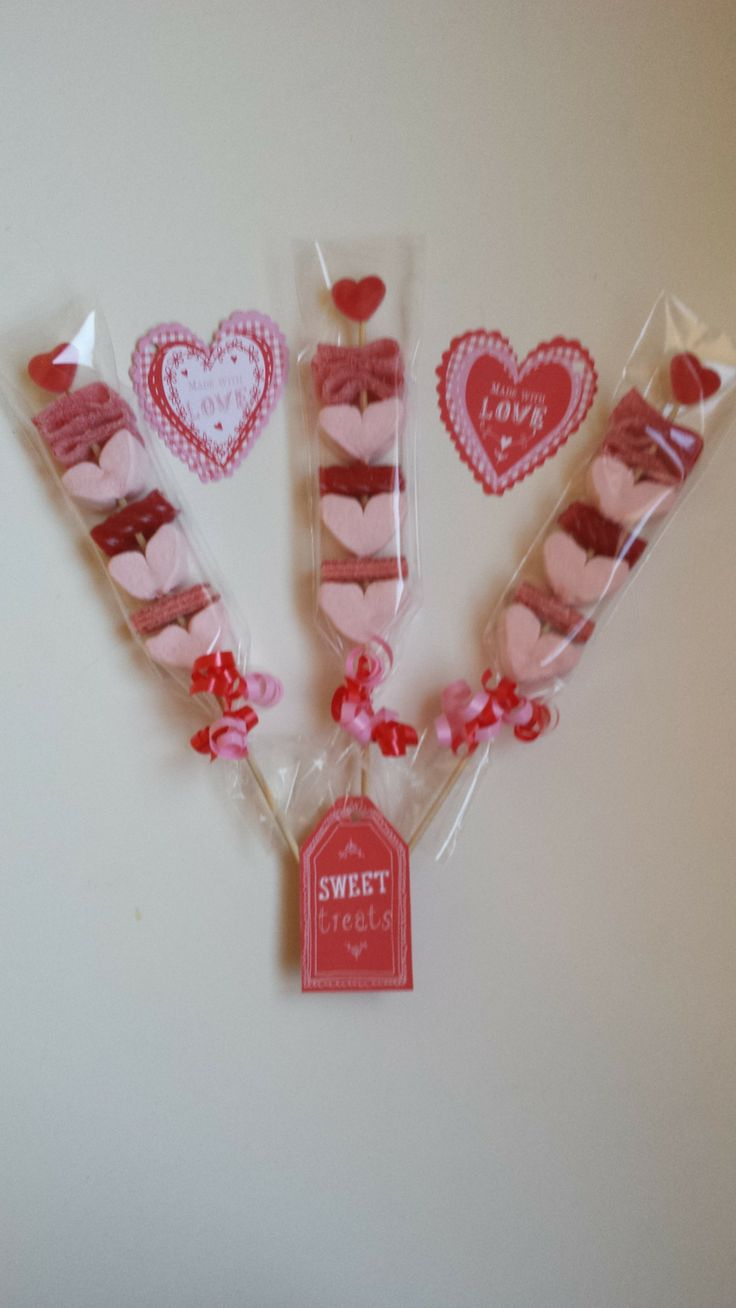Valentine Sweet Kebabs - The Supermums Craft Fair.  These were made by Sweet Finesse Valentines 2014 and sold via the Supermums Craft Fair
