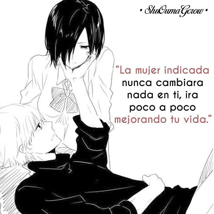 Soy celoso lo se #ShuOumaGcrow #Anime #Frases_anime #frases