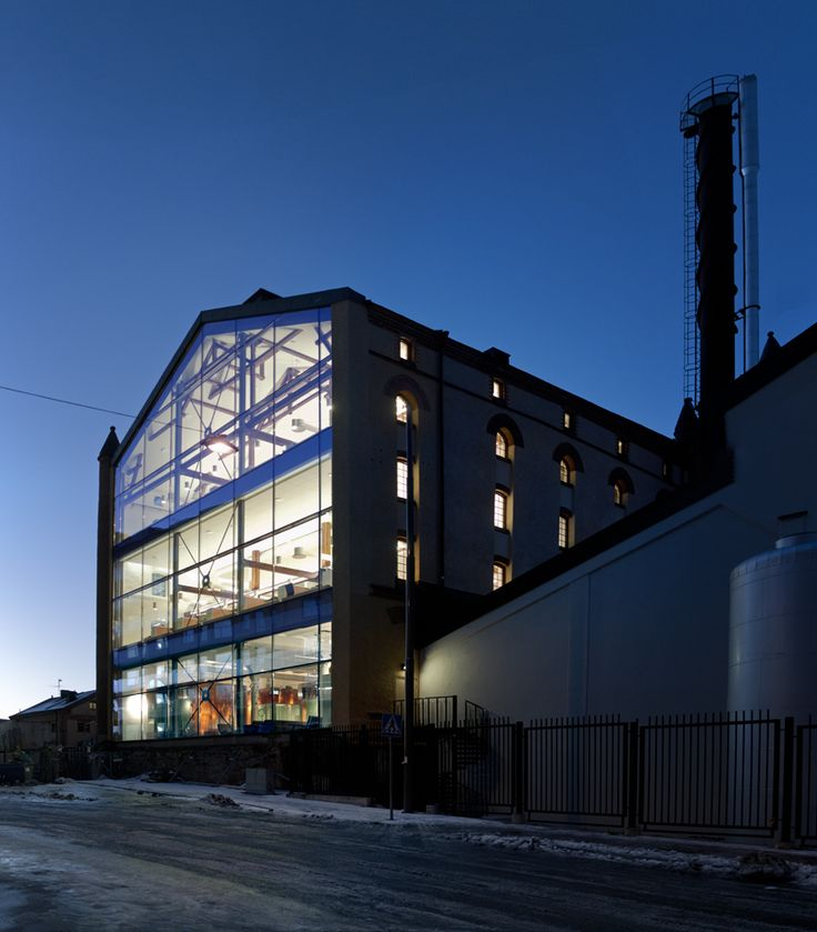 joliark restores abandoned stockholm brewery for octapharma