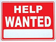 Help Wanted ads for working RVers and campers. These HW ads are current job openings. They include paid employment; exchanges (what some call work camping); and volunteer positions with an RV site.