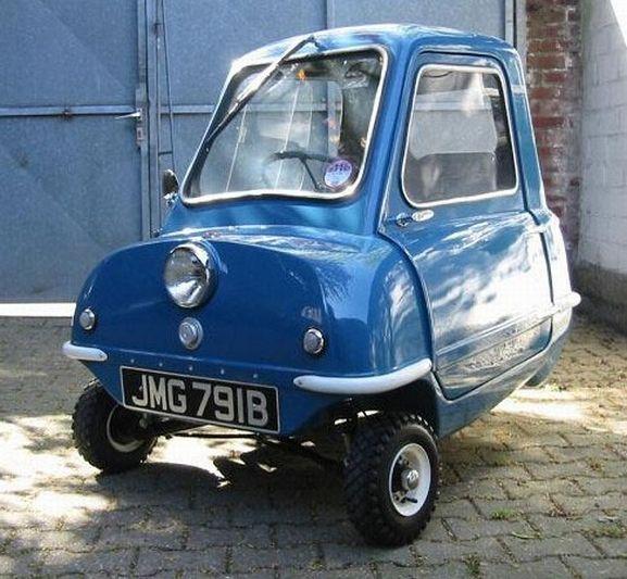 Britain's smallest car. Peel P50.