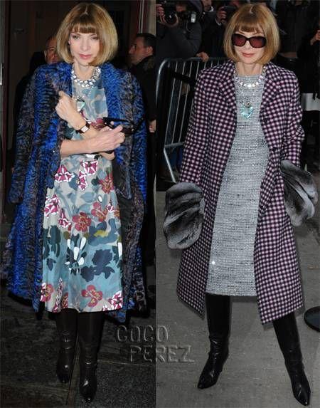 anna wintour fur coat couture week