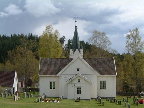 Church in Nissedal, Norway