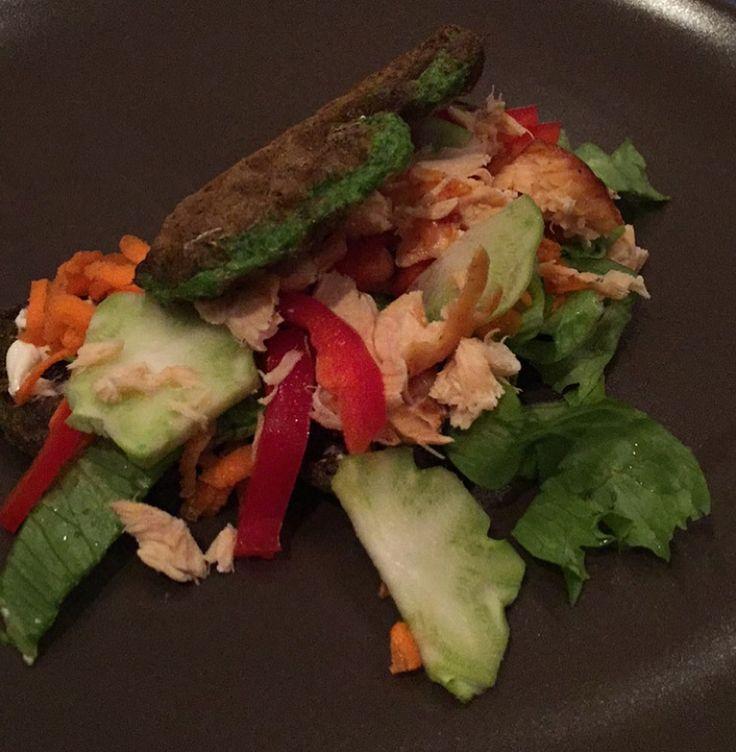 Fredags spinatvafler med laks 👯 Når man har haft cravings efter vafler lidt …