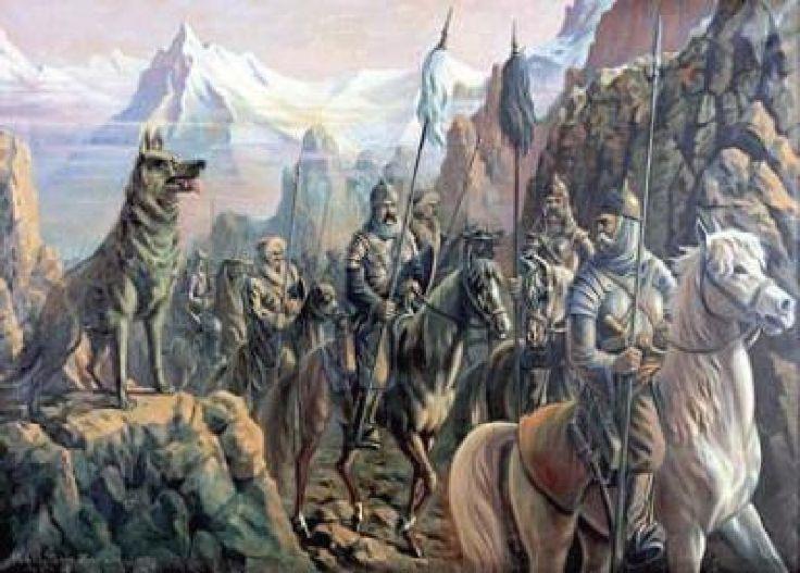 I. Ergenekon (Ergeneqon) by İbrahim Çallı