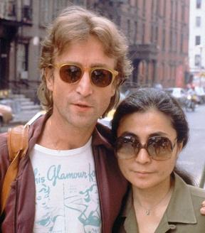 Yoko Ono;John Lennon Oct 1980 ..