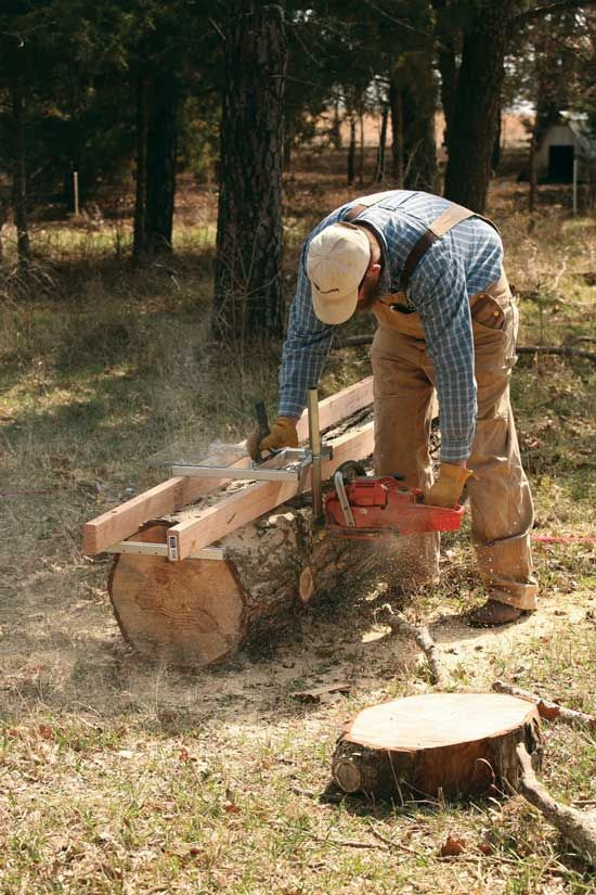 Most Design Ideas Portable Sawmills Chainsaw Mill Plans Pictures