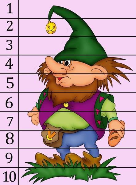 Изучаем цифры - арифметика в пазлах 10