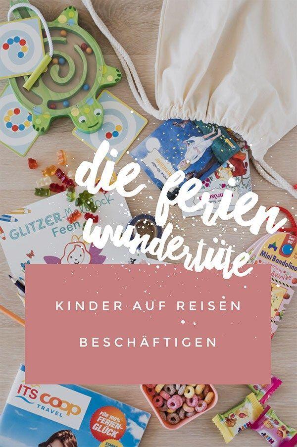 Kinder auf Reisen beschäftigen: Die Ferien Wundertüte – ChrisNine