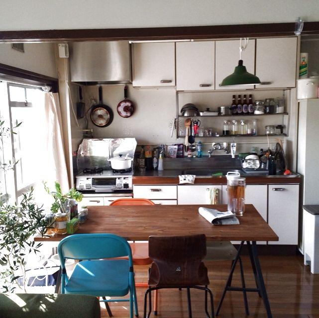 観葉植物/IKEA/キッチンのインテリア実例 - 2013-11-18 19:06:27 | RoomClip(ルームクリップ)