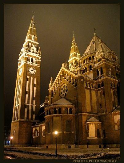 The Szegedi Dom, Szeged, Hungary