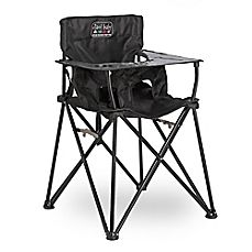 image of ciao! baby™ Portable Highchair in Black