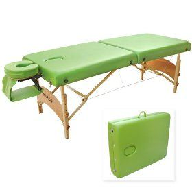 Reiki massage table or massage table. LOve this freaking TABLE... ITS Green!!!!!!!!!!!!!!!!!! :-)