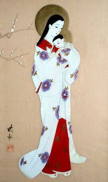 Virgen japonesa