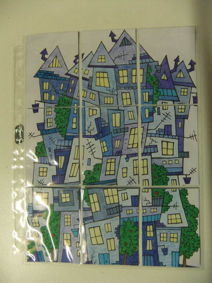 Blue Houses - Pocket Letter