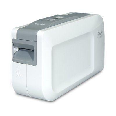 Brother PT-2430PC Thermal Label Printer Monochrome - Thermal Transfer - 0.39 in/s Mono - 180 dpi - USB