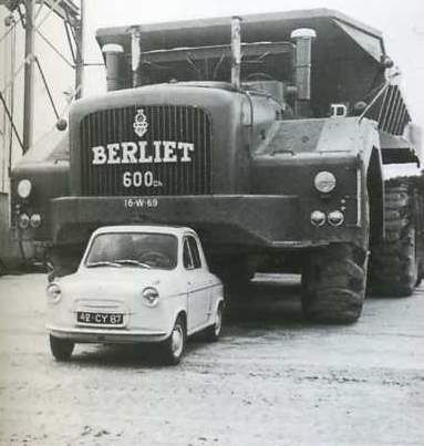 BERLIET T100, O SHEIK DO SAARA