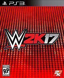 WWE 2K17 W2K17 (Sony PlayStation 3, 2016) PS3