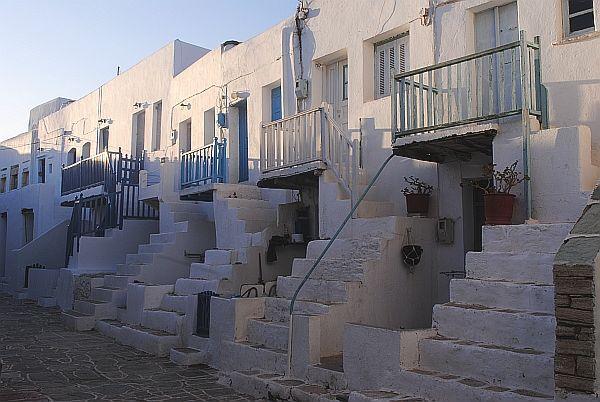 Medieval houses in Kastro, Chora