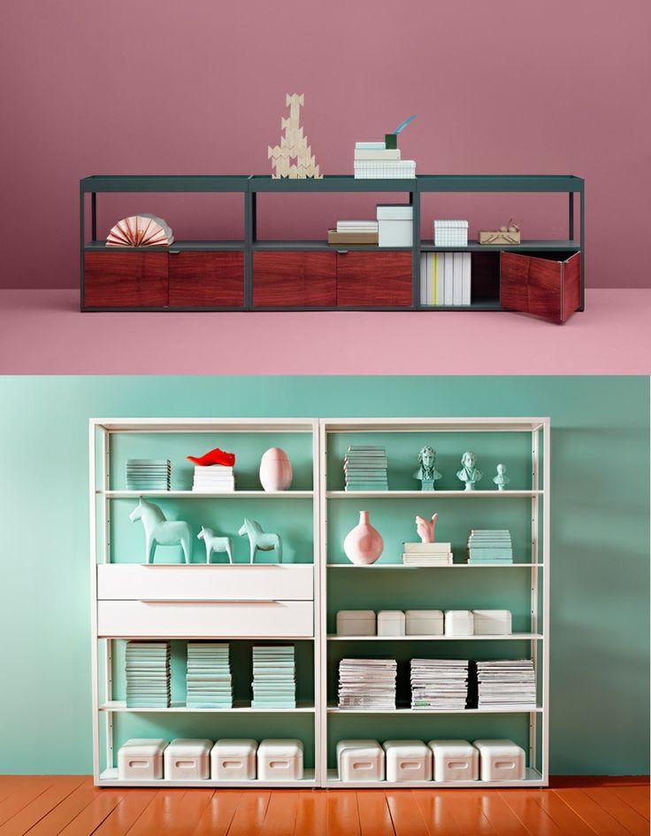 18 best hay new order shelve system images on pinterest. Black Bedroom Furniture Sets. Home Design Ideas