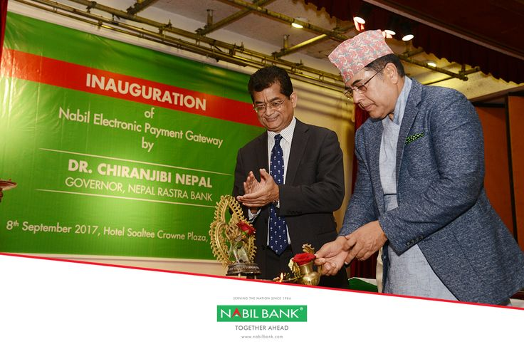 "Nabil Bank is pleased to announce the launch of ""Nabil Electronic Payment Gateway"" that will facilitate e-commerce transactions in 3D secure environment for the very first time in Nepal. Nepali businesses can now sell their products/services online in a secure environment by accepting payment through Visa, MasterCard & UnionPay International Cards issued in Nepal or abroad."