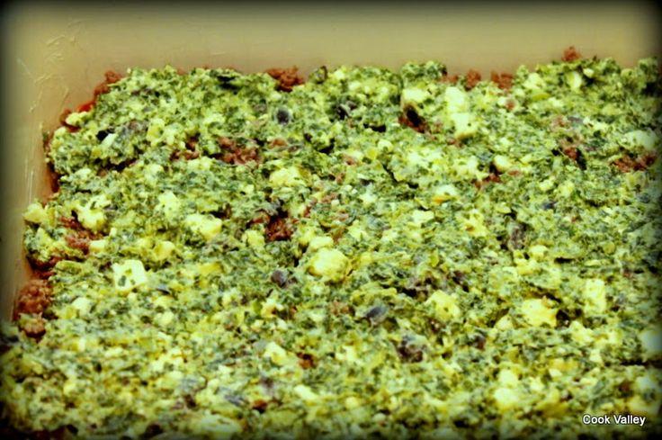 cookvalley - tanker om mad: Grønkålslasagne med feta og ricotta