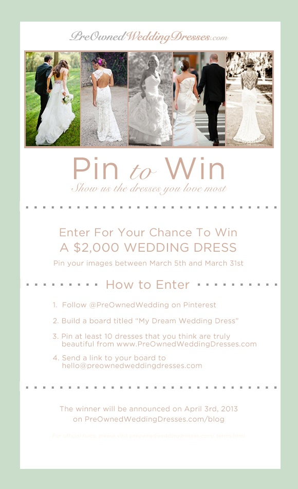 17 best images about contests coupons and giveaways for for Win free wedding dress