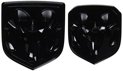 Black Dodge Ram 1500 2500 3500 Front & Rear Ram Head Embl... http://www.amazon.com/dp/B00GUSKOP2/ref=cm_sw_r_pi_dp_Yvojxb1X3SZ88