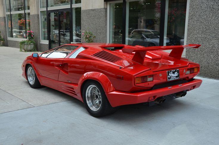 Used 1989 Lamborghini Countach 25th Anniversary Edition | Chicago, IL