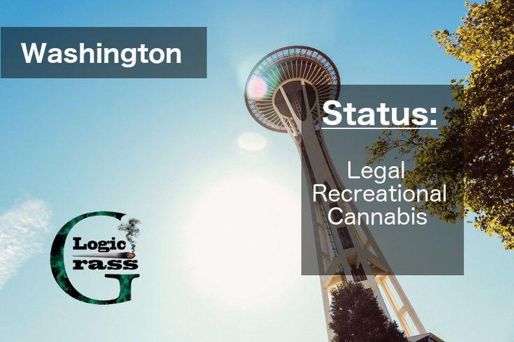 Check out the legal status of marijuana in Washington #marijuanalegalization #cannabiscommunity