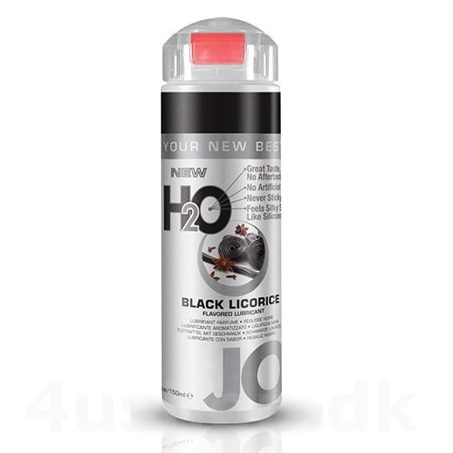JO H2O Lakrids - Black Licorice - 150 ml