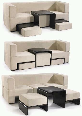 Ideal para espacios reducidos