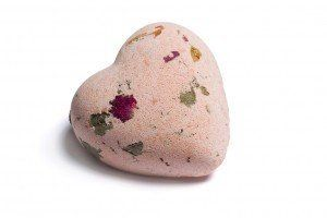 Laline Bath Bombs - Dissolving sea salts and minerals by Laline USA. $6.95. A fun and colorful heart-shaped bath bomb - just add to your bath and wait for the fragrance explosion! With Dead sea salts and minerals to soften and pamper your skin.