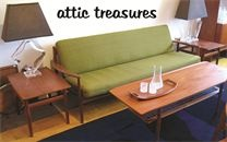 Attic Treasures - specialize in mid century modern lighting and accessories