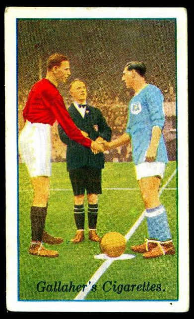 Cigarette Card - FA Cup Final 1927