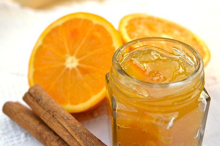 Marmellata di arance e zenzero