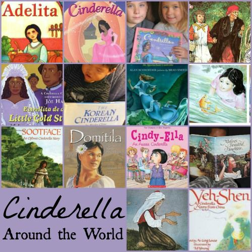 Different versions of Cinderella from around the world.