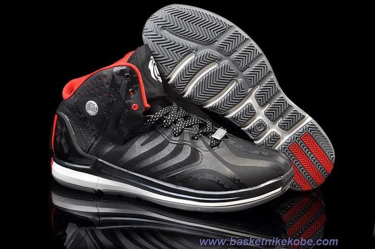 Chaud Adidas Adizero Rose 4.5 Noir Varisty Rouge Blanc Chaussures