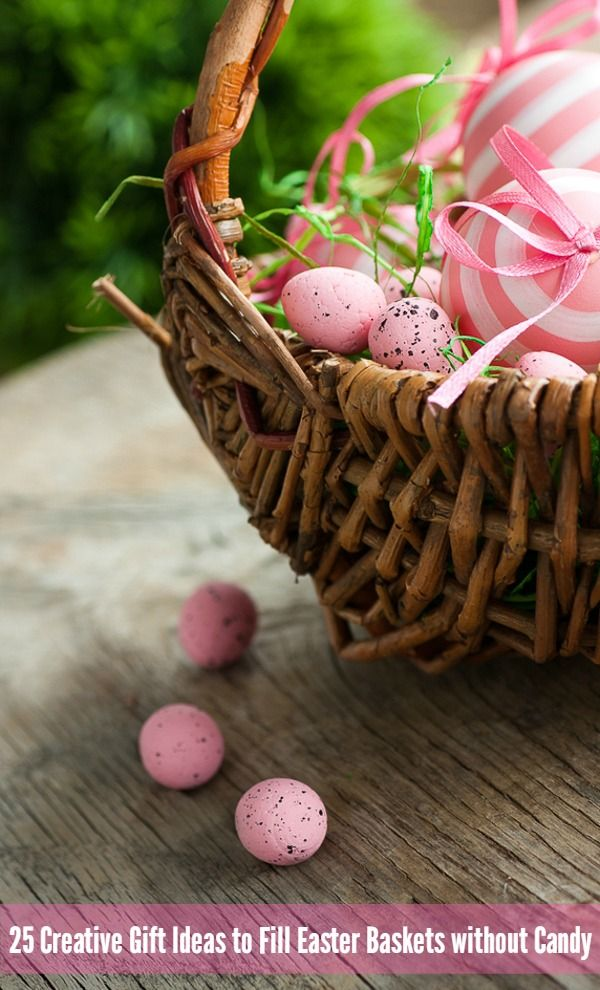 25 Creative Gift Ideas to Fill Easter Baskets with…