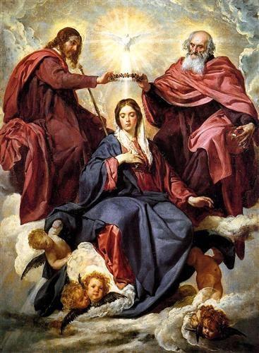 Coronation of the Virgin - Diego Velazquez