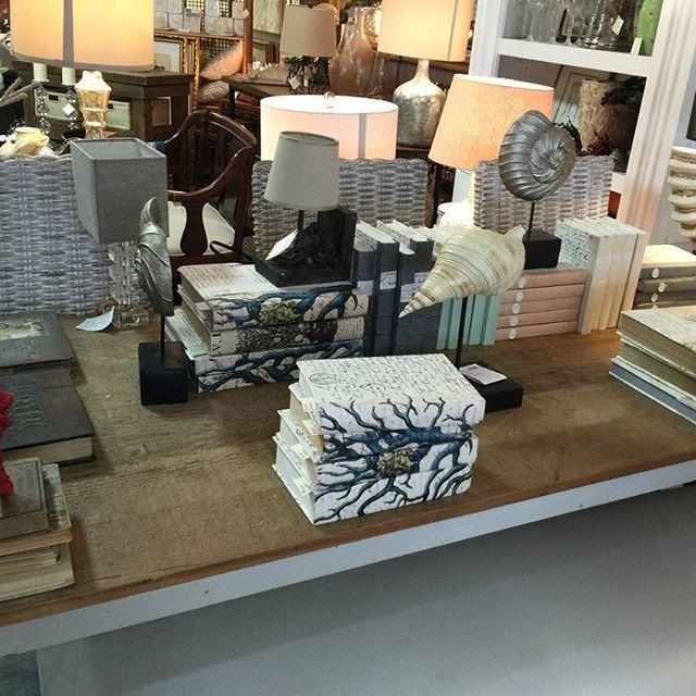 Decorative #books make perfect accessories 📚 Home Decor