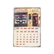 Calendário Magnético de Metal Doceria - Vintage