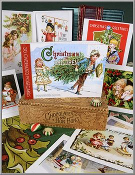Christmas Shop: Christmas for Children Postcards Book - D. Blumchen