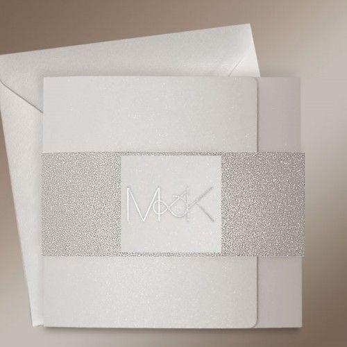 Modern Silver Wedding Invitations at Polina Perri #weddinginvitations #silverweddinginvitations #modernweddinginvitations #weddinginvitationsUK