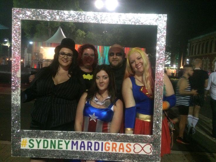#Sydneymardigras #beyourownsuperhero