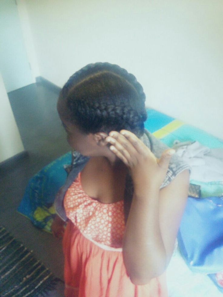 2 strand cornrows. jumbo plaits. beautiful