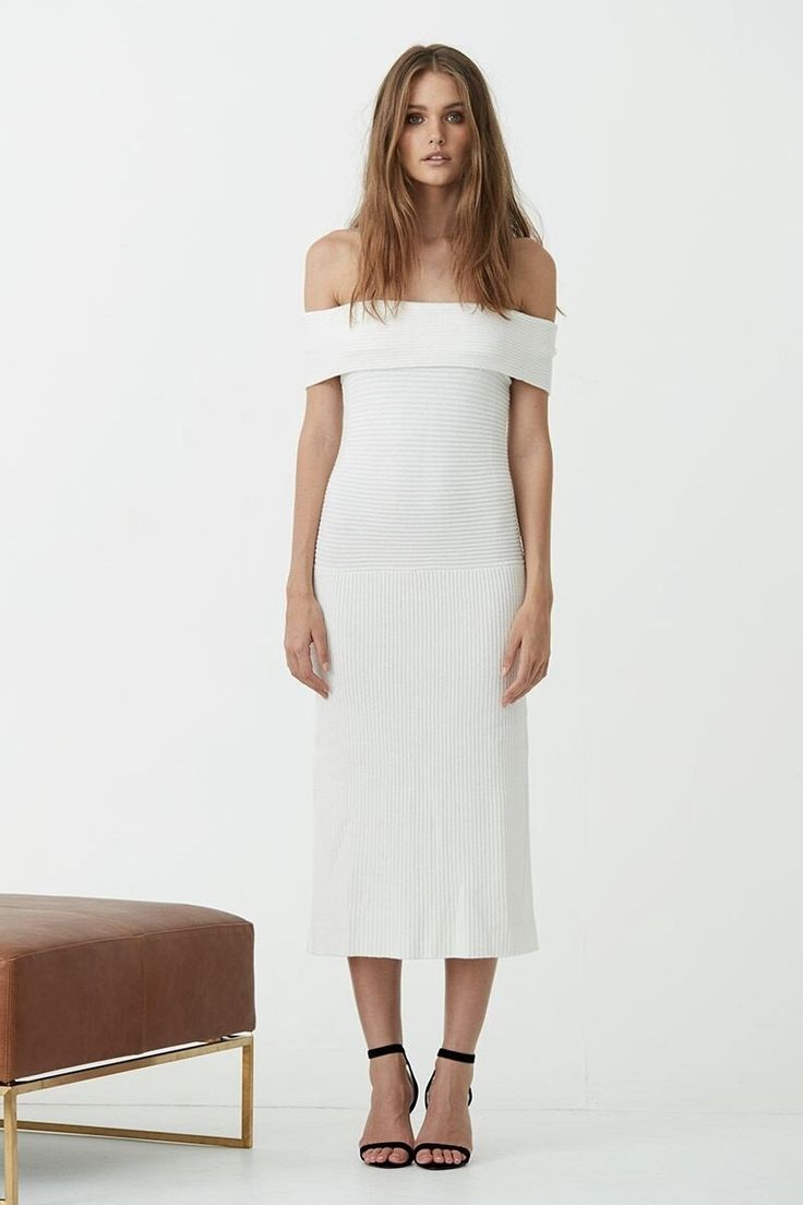 Maurie & Eve - Casablanca Dress White