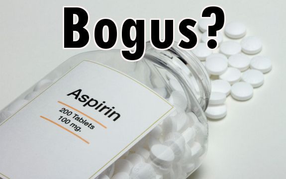 Why Low Dose Daily Aspirin for Heart Attack and Stroke Prevention is Bogus...another medical hoax exposed