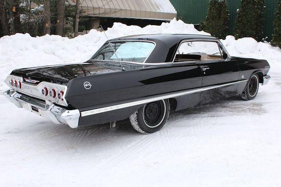 1963 Chevrolet Impala 409 Hardtop For Sale Rear